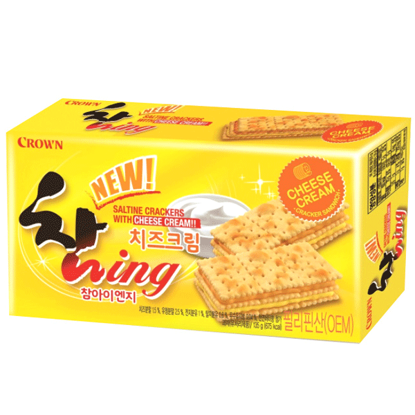 Crown Chaming Cheese Cream 135g