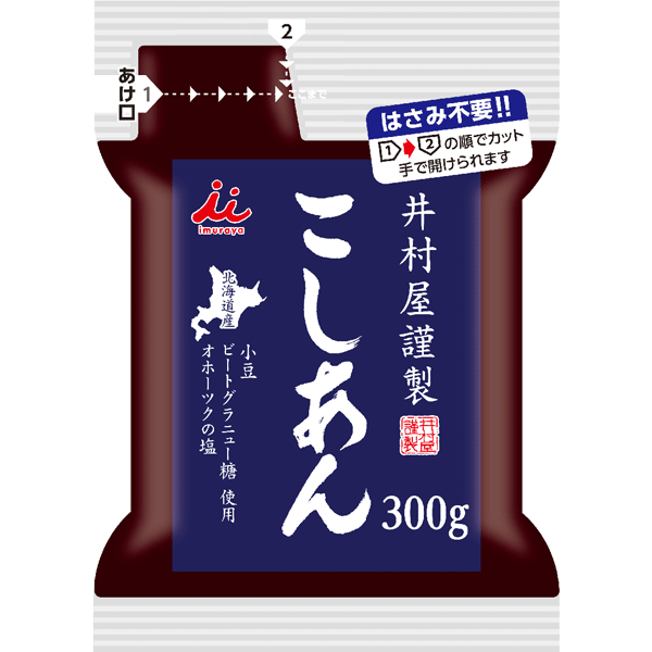 Imuraya Smooth Sweet Red Bean Paste, sweet, 300g