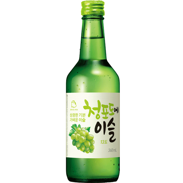 Jinro Podoeiseul Grape Soju 360ml