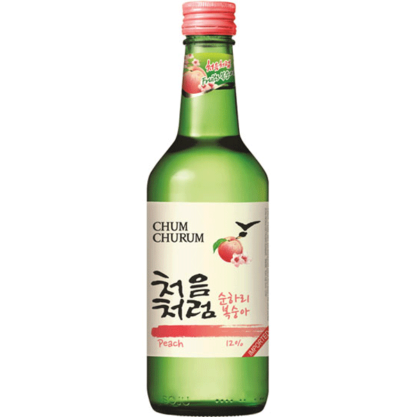 Lotte Chum Churum Peach Soju 360ml
