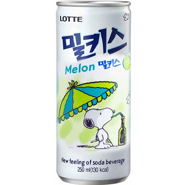 Lotte Milkis Melon 250ml