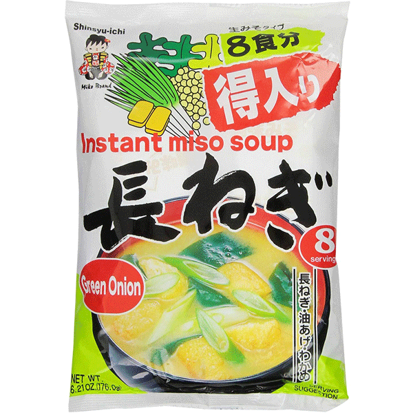 Miyasaka Instant Miso Soup with Green onions 8×22g