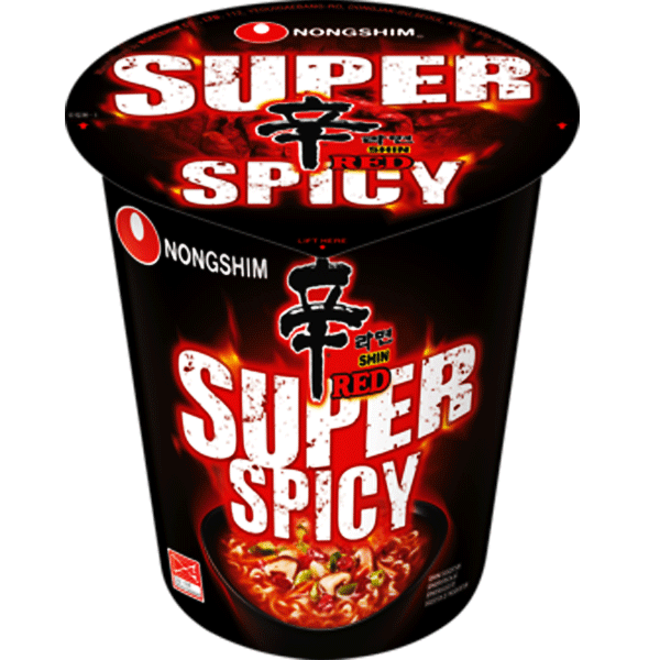 Nongshim Shin Red Ramyun SUPER SPICY 68g