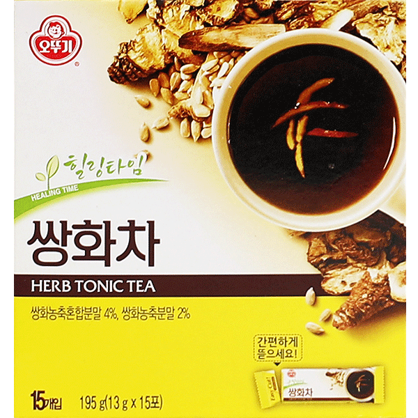 Ottogi Herb Medicine Tea Gold (Powder) 15Pcs, 195G