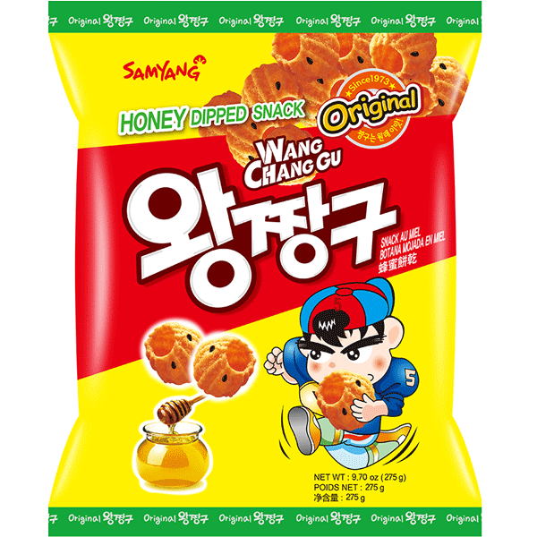 Samyang Chang Gu, Honey Dipped Snack 115g