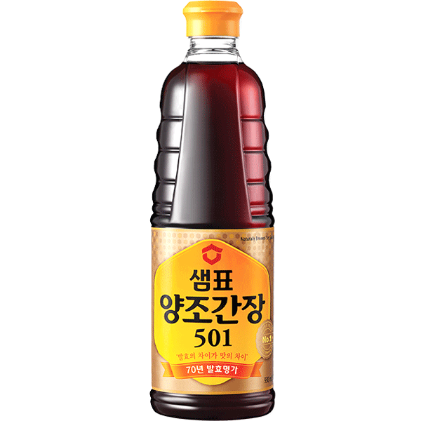 Sempio Naturally Brewed Soy Sauce-Chosun, 500Ml