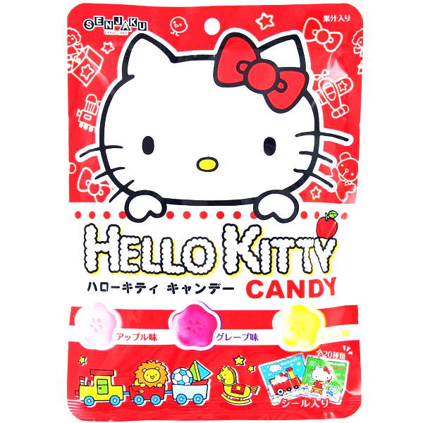 SENJYAKUAME Hello Kitty Candy with fruit 65g