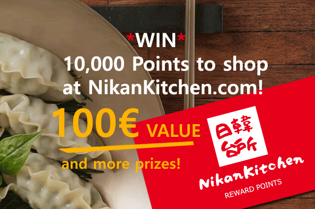NikanKitchen Big autumn lottery!